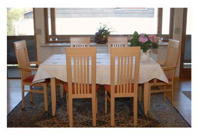 Margetshöchheim Ferienwohnung / Privatzimmer Spanheimer : Essgruppe